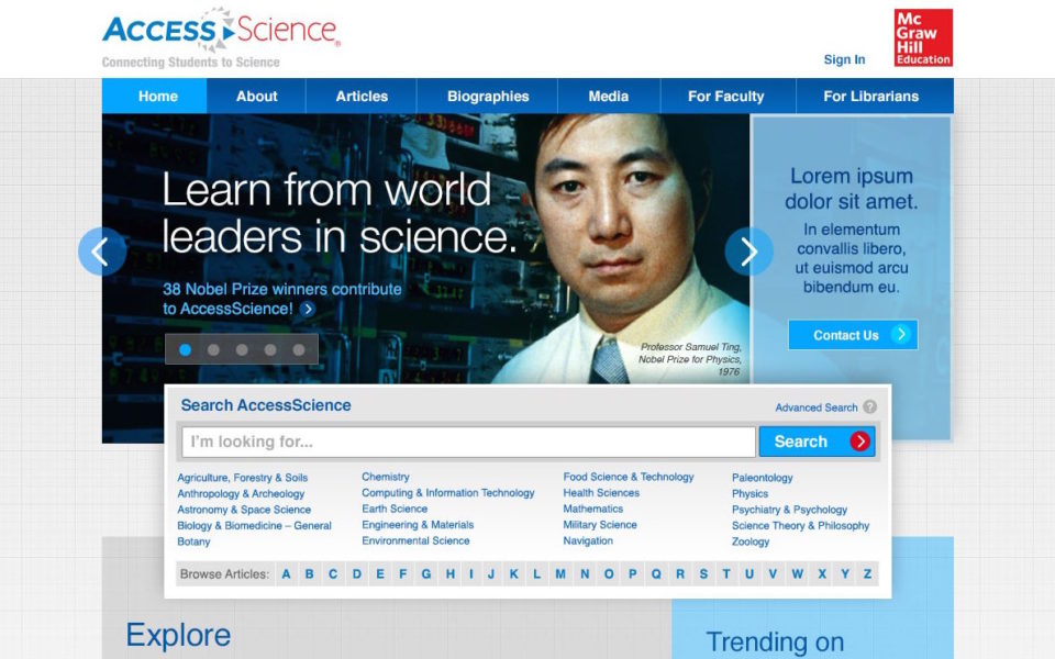 AccessScience_home_public