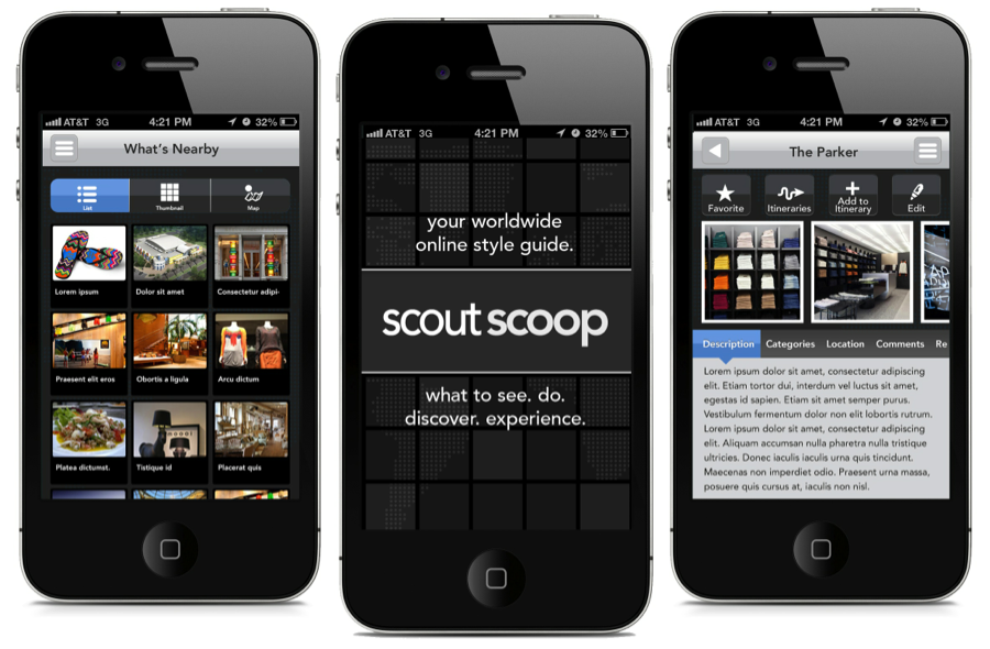Scout Scoop iPhone