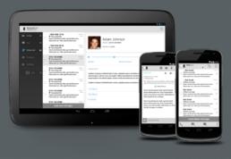 communications center app
