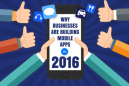 Why Businesses Are Building Mobile Apps Title